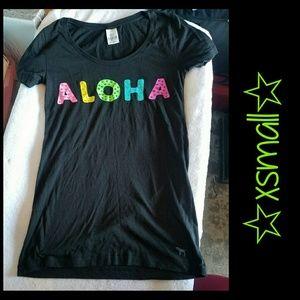 "VS PINK ""ALOHA"" Tshirt *xsmall*"